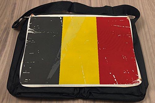 Borsa Tracolla Vacanza Agenzia Viaggi Belgio Stampato