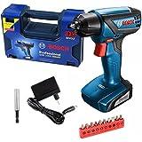 Bosch 06019F40E0-000, Parafusadeira/Furadeira a Bateria de 12V, Azul