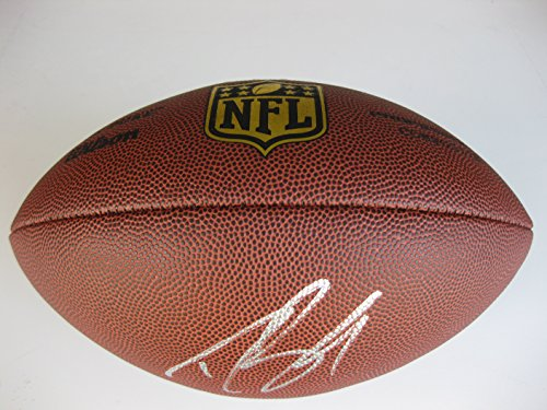 Drew Brees New Orleans Saints, Signed, Autographed, NFL Duke Football, a COA with the Proof Photo of Drew Signing...