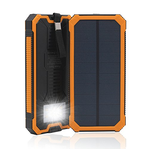 QueenAcc 15000mAh Charger Flashlight Portable