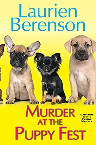 book cover of Murder at the Puppy Fest