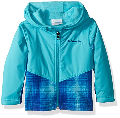 - Columbia Kids & Baby Toddler Kids Steens Mt Overlay Hoodie, Geyser Twill Plaid, 3T
