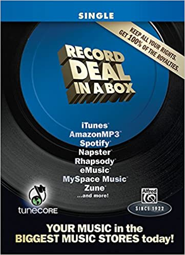 Record Deal In A Box Single Edition Tunecore 1 Year Publishing Deal And Studio One Recording Program Boxed Set Alfred Music 9780739081105 Amazon Com Books
