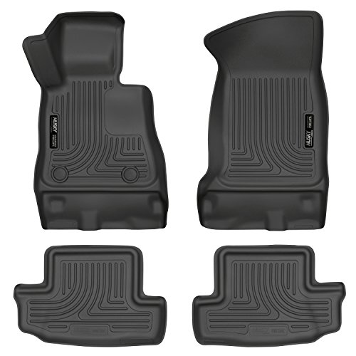 2016-2017 Chevrolet Camaro Weatherbeater Series Front & 2nd Seat Floor Liners - Black