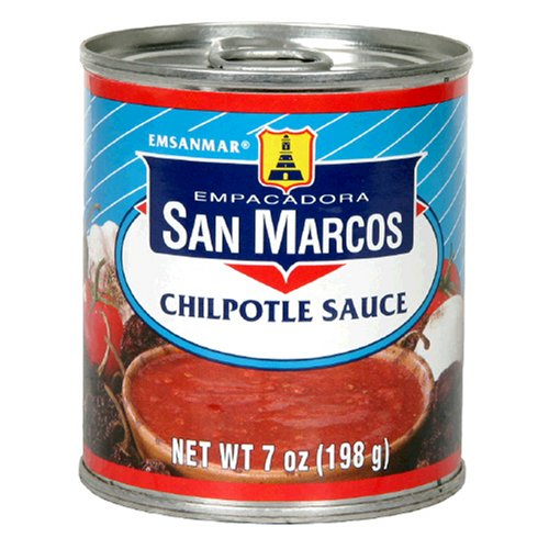 Empacadora San Marcos Chipotle Sauce, 7-Ounce Cans (Pack of 24)