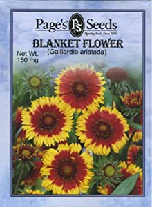 Page's Seed P724 Blanket Flower (W/P) Seed Packet