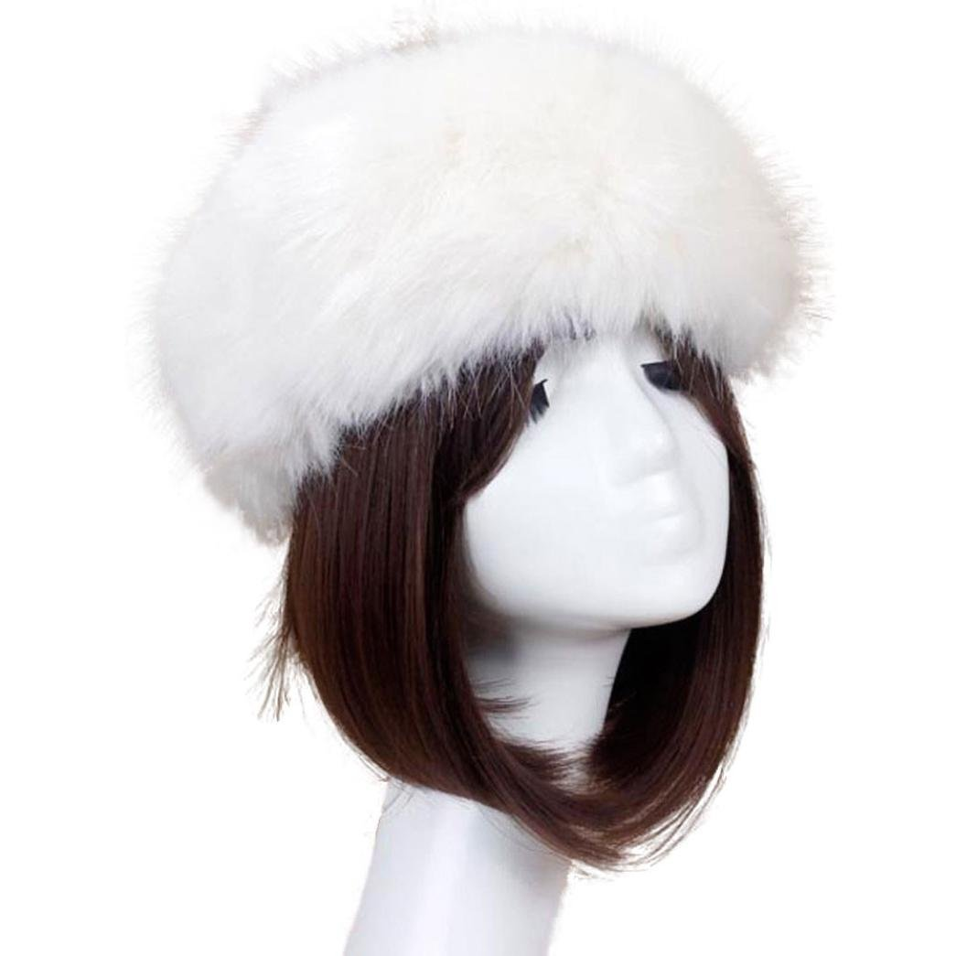 YANG-YI 2017 Women Men Hats Winter Hat Male Cap Men Women Soft Ski Headdress (Beige, one Szie)