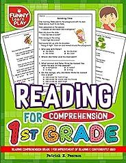 Reading Comprehension Grade 1 for Improvement of Reading & Conveniently Used: 1st Grade Reading Comprehension Workbooks for