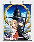 "Home Decor Japanese Anime Wall Scroll Anime Poster Sword Art Online (24""*32"")"