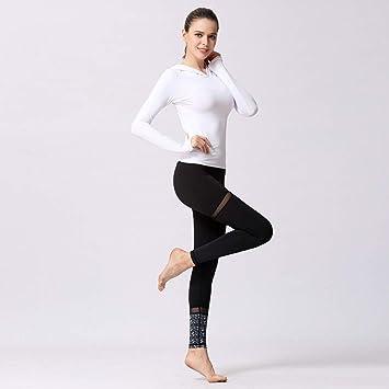 WZXY Pantalones de Yoga Traje Deportivo de Yoga para Mujer ...