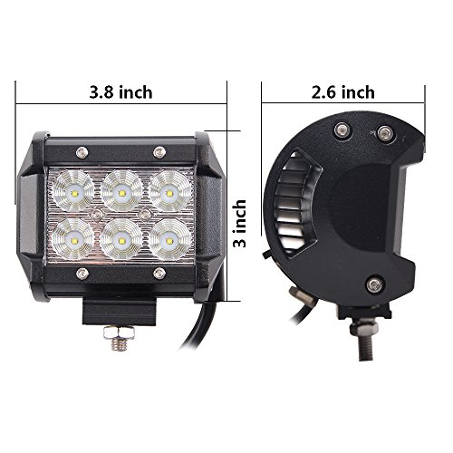 Bangbangche-20-126W-Flood-Spot-Combo-Cree-LED-Light-Bar-with-10FT-Fuse-Relay-Wiring-Harness-2-X-18W-Spot-Led-Pods-Lights-Jeep-4X4-Off-Road-Truck-Boat-1-Year-Warranty
