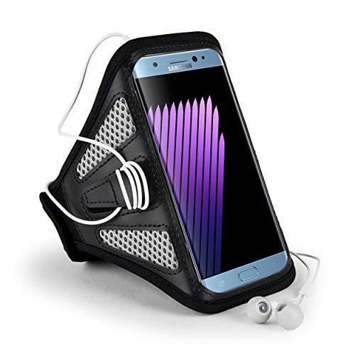 Premium Mesh Running Sport GYM Armband Case for iPhone 8 Plus / iPhone X / Samsung Galaxy Note 8 / S8 Active / Motorola Moto G5s Plus / LG V30 / LG Venture / LG K20 / HTC U11 / HTC U Ultra (Gray)