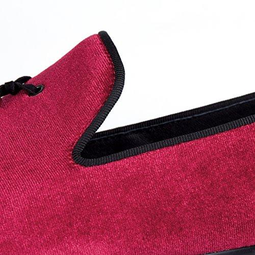 Rosso Harpelunde uomo Mocassini Rosso Mocassini Mocassini Red uomo Harpelunde Rosso Red Harpelunde uomo wSFPT
