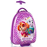 """Nickelodeon PAW Patrol Girl's 18"""" Rolling Carry On Luggage"""