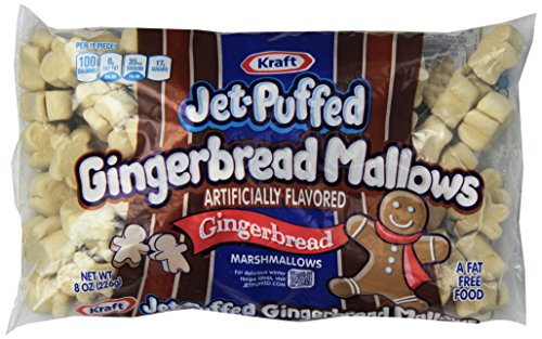 Kraft Jet-puffed Holiday Flavored Marshmallows (Gingerbread Mallows)