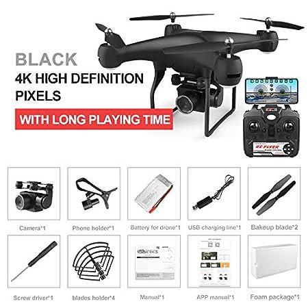 Alician FunGame Drone 4k RC Quadcopter Dron con HD 1080P WiFi ...
