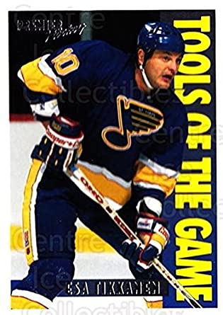 b8c9c916f Amazon.com  (CI) Esa Tikkanen Hockey Card 1994-95 OPC Premier (base ...
