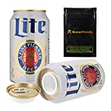 Miller Light Beer Diversion Safe Stash Can Container 12 oz w HumanFriendly Smell Proof Bag