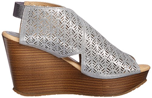 Sole Cole Pewter Kenneth Safe 2 Wedge REACTION Sandal Womens 8t8wcqdR