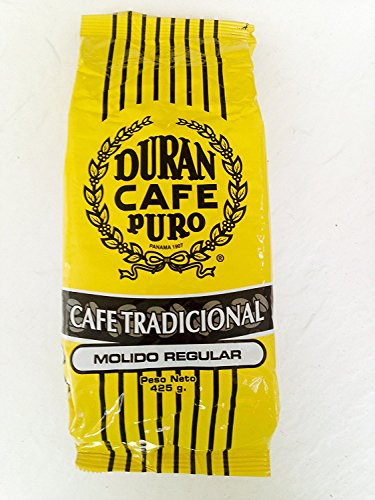 Cafe Duran Cafe Tradicional Best Panama Coffee Regular Ground 1 Pound Freshly Imported Best Quality Coffee From the Highlands of Chiriqui (Boquete)