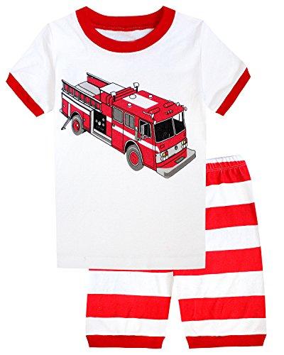 Babyroom Excavator pajamas toddler sleepwear product image