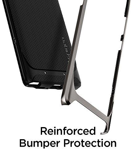 Spigen Funda para teléfono móvil modelo 587CS22084, de 6,3, color negro y gris Gunmetal