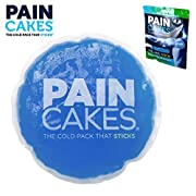 PAINCAKES The Cold Pack That Sticks & Stays in Place – Reusable Cold Therapy Ice Pack Conforms to Body, 1 Large, 5″