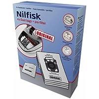 Nilfisk - 107407940 - 4 bolsas de aspiradora