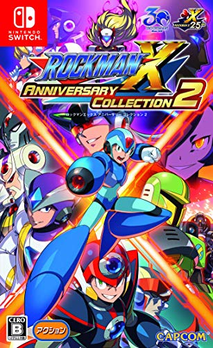 Capcom Rockman X Anniversary Collection 2 NINTENDO SWITCH JAPANESE IMPORT REGION - Collection Anniversary