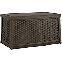 Suncast ELEMENTS Coffee Table with Storage, Java