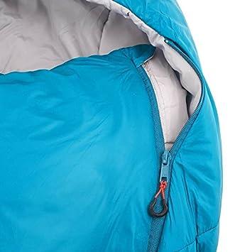 Quechua Forclaz 10/15 ° ultraligero Bivouacking/senderismo/trekking saco de dormir - azul: Amazon.es: Hogar