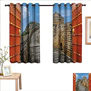 curtains hair style great wall of china customized curtains 5107 | 5107DW2T60L. SY300 QL70