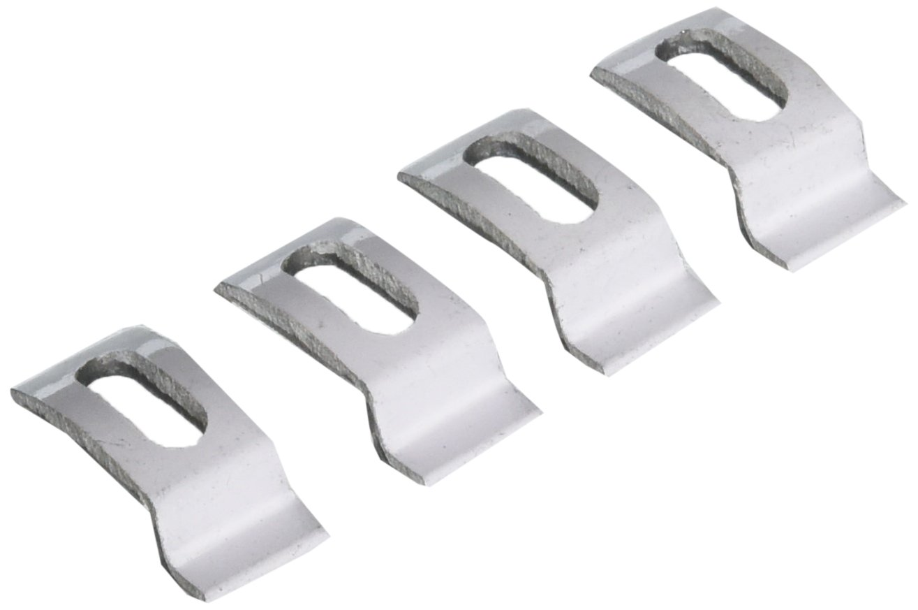 Slide-Co 181050 Storm Door Clips with No Screws and  1/4-Inch Offset, White, 4-Pack
