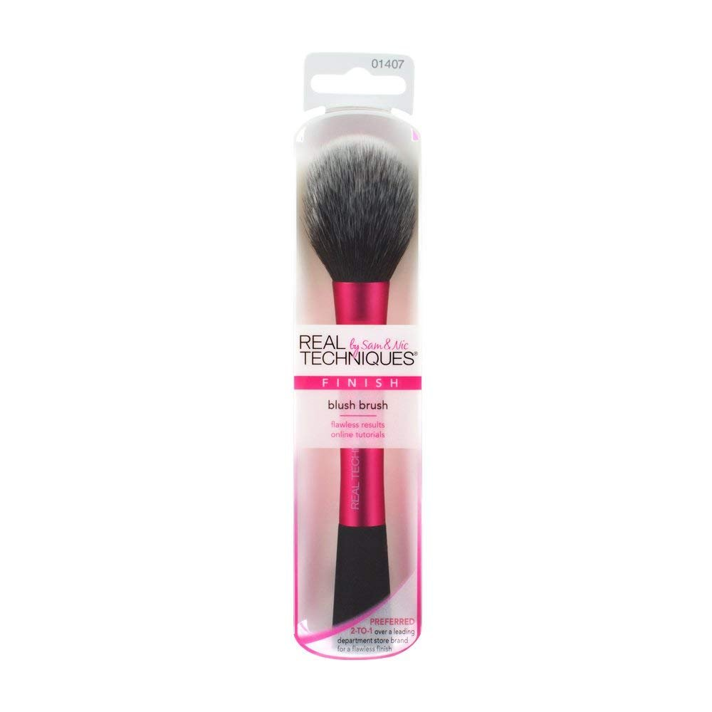 Beauty7 Real Techniques Blush Brush (Pink) by Real Techniques