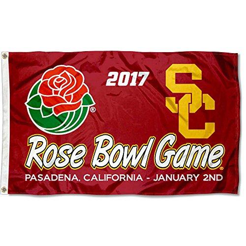 Usc Trojans Flag Tailgate (USC Trojans Rose Bowl 2017 Flag)