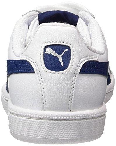 white Puma Sneaker blue L Depths Bianco Adulto Unisex Smash OxYwx