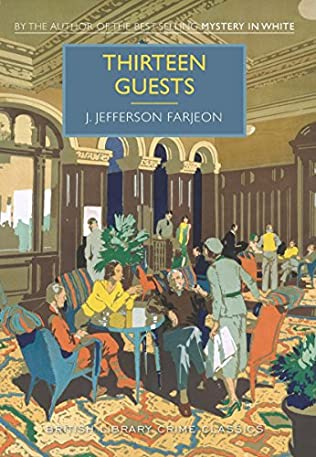 book cover of Thirteen Guests