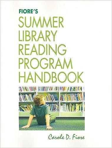 Fiore's Summer Library Reading Program Handbook: Carole D