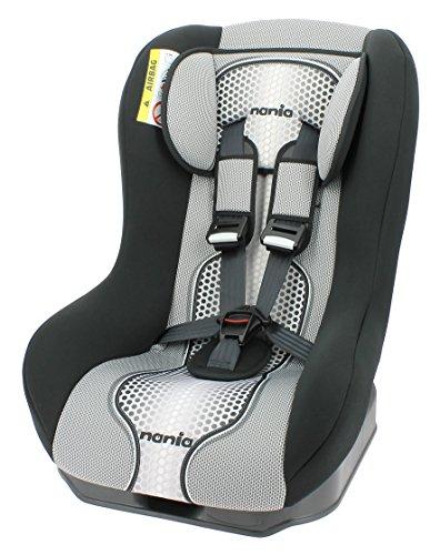 Nania Kinderautositz Kindersitz Maxim pop  ECE Gruppe 0 / 1  ab Geburt bis 18 kg  bis 10kg reboard nutzbar  schwarz