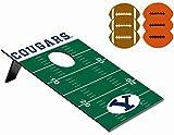 NCAA Byu Cougars Throw Football Digital Print Bean Bag, One Size, Other