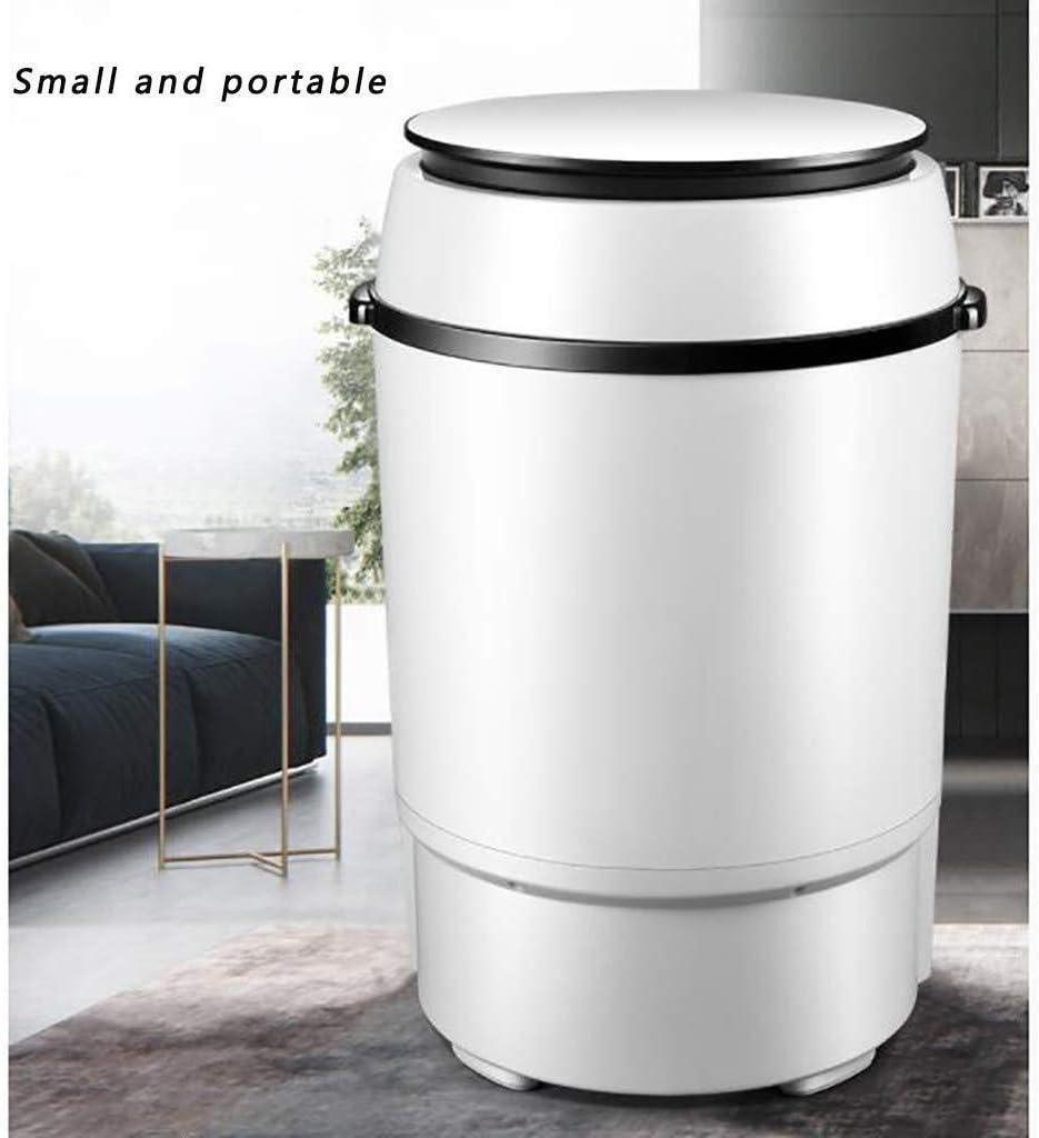 HIGHKAS Mini Lavadora Lavadora semiautomática portátil, lavadoras eléctricas compactas Secadora rotativa Capacidad Lavado 5 kg/11 Libras para Apartamentos