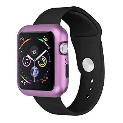 super popular a588a 1daca Longay Watch Case, Magnetic Frame Watch Case Protective Cover for Apple  Watch Series 4 (44mm, Purple)