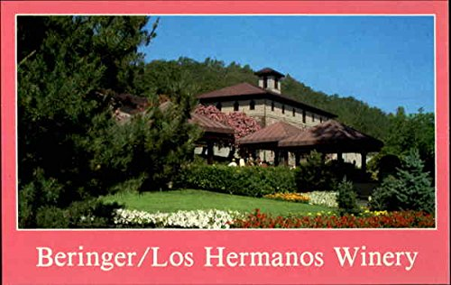 Beringer/Los Hermanos Winery Napa Valley, California Original Vintage Postcard ()