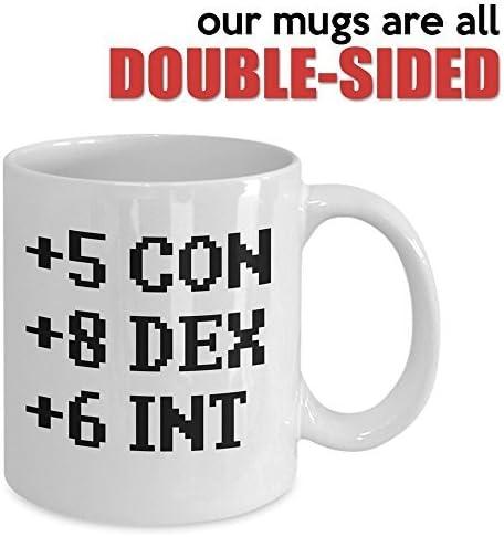+5 Con 6 Int Black Coffee Mug 11 oz Made in USA 8 Dex