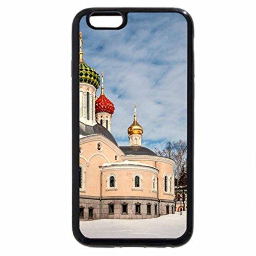 iPhone 6S / iPhone 6 Case (Black) Russian Church in Winter