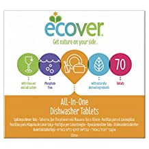 Ecover All in One Dishwasher Tablets 70 Tablet (order 5 for trade outer)