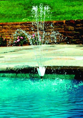 Swimline Wall Flower Pool Fountain Set