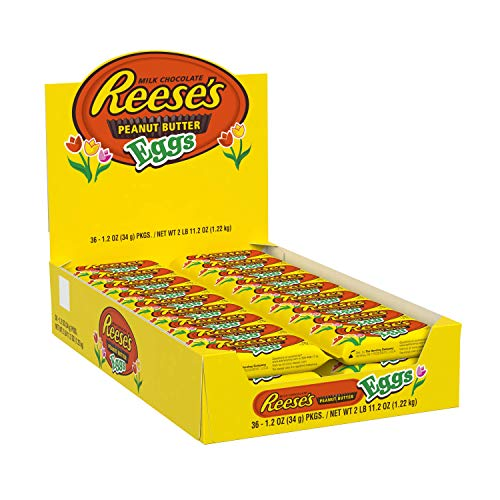 Reese's Easter Chocolate Candy Peanut Butter Egg, 1.2-Ounce Packages (Pack of 36) by Reese's (Image #9)