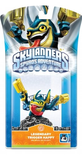 Skylanders: Spyro's Adventure - Character Pack - Legendary Trigger Happy (Wii/PS3/Xbox 360/PC)