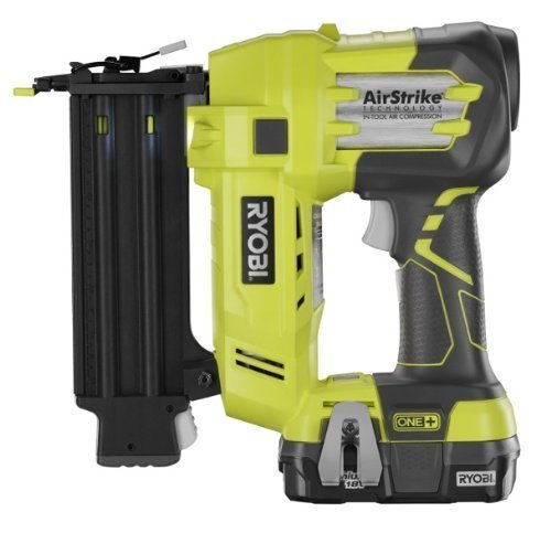 Ryobi ZRP854 18V Cordless 18Ga. 2 in. Brad Nailer Kit Certified Refurbished